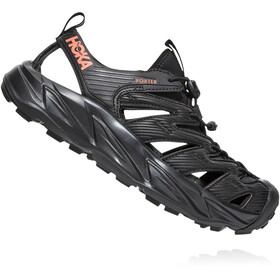 Hoka One One Porter Sandals Women black/fusion coral